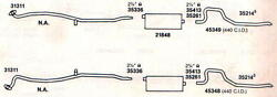 1967 Charger And Coronet Dual Exhaust Aluminized With 440 Engines