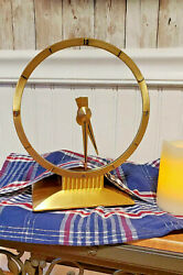Jefferson Golden Hour Mystery Clock Service And Repair. Please Read Carefully