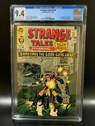 Strange Tales 138 - Cgc 9.4 Rare Ow/white Pages - 1st Eternity - New Cgc Case