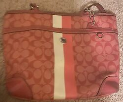 coach handbags used large pre owned $50.00