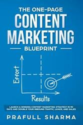 The One-page Content Marketing Blueprint Step By Step Guide To Launch A Winnandhellip