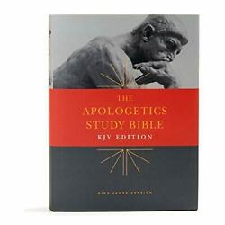 Kjv Apologetics Study Bible, Hardcover By Csb Bibles By Holman Hardcover