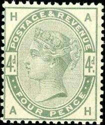 Great Britain Gb Sg 192 4d Postage And Revenue Stamp Muh