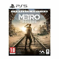 Metro Exodus - Complete Edition Ps5 New And Sealed - In Stock - Free Postage