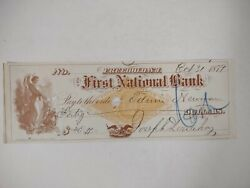 Freehold Nj Bank 1879 First National Bank Monmouth County Local History