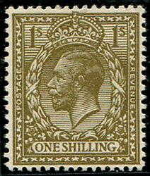 1/- Sg 39510 'deep Bronze-brown' U/m, Superb Fresh And Stunning Colour Of This
