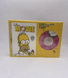 The Simpsons Movie - 2 Pack With Dvd - Exclusive T-shirt New