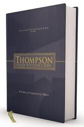 Nasb, Thompson Chain-reference Bible, Hardcover, Red Letter, 1977 Text English
