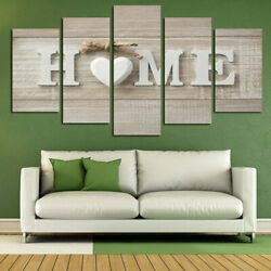 5Pcs Wall Art Painting Unframed Modern Print Canvas Picture Home Room Decor