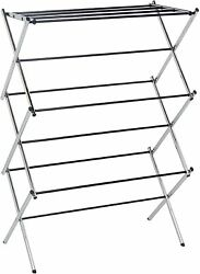Foldable Clothes Drying Laundry Rack - Chrome