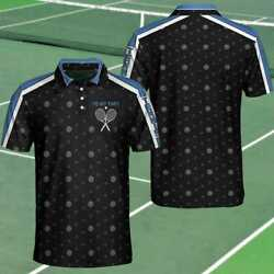 Gift For Tennis Players Practice Hard Basic Style Polo Shirt Comfortable Fabric