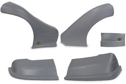 Dominator Racing Products 2300-gry Dominator Late Model Nose Kit Gray