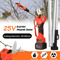Professional 25v 600w Cordless Pruner Pruning Shears Fit Gardens Farms Cutting