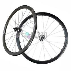 Miche Wheelset Supertype 440 Rc Clincher White Campagnolo Bike Bicycle Pair
