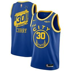 Golden State Warriors Stephen Curry Nike 2020/21 Swingman Jersey Classic Edition
