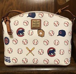 NWT Dooney and Bourke MLB Chicago Cubs Limited Edition Suki Crossbody Bag $168 $125.00
