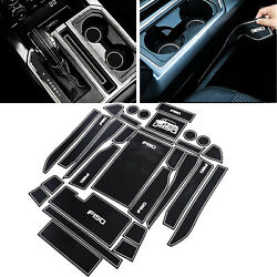 Liner Accessories For 2015-2016 Ford F-150 Cup Holder Inserts Center Console Mat