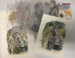 Doug Sneyd Signed Original Art Prelim Collection 15 Sketches From Playboy 2015