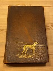 Very Rare Greyhound Dog Book By Ash Signed Ltd Ed Best Book On The Breed 1933