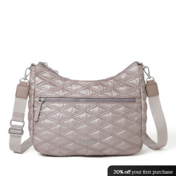 Quilted Convertible Hobo $40.00