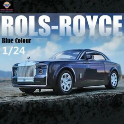 1/24 Diecast Toy Vehicle For Rolls-royce Sweptail Car Model Car Toy For Children