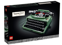 Lego 21327 Typewriter New And Free Shipping. International Shipping Available