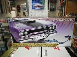 Gmp 1/18 1970 Plymouth Road Runner Purple The 1st One Nib