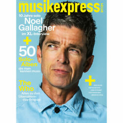 Musikexpress 2021/07 Noel Gallagher Magazine Germany Rare