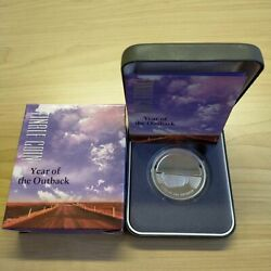2002 Royal Australian Mint 5 Year Of The Outback Finale Coin 1oz .999 Proof Sil