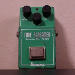 Ibanez Ts808 Tube Screamer With Glossy Jrc4558d Rare Made In Japan Vintage