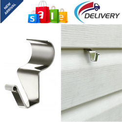 Vinyl Siding Hooks For Hanging 12 Pack Heavy Duty Stainless Steel Low Profile