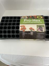 Pro Hex Seed Starting Tray 72 Cells Minimizes Transplant Shock For Seedlings New