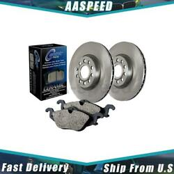 1x Front And Rear Centric Parts Disc Brake Pad And Rotor Kit For Nissan Quest