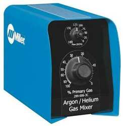 Miller Electric 299-006-3c Two Gas Mixer,argon And Helium