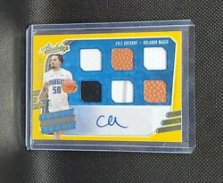 2020-21 Absolute Cole Anthony Rc Auto 6 Piece Relic Tools Of The Trade /199