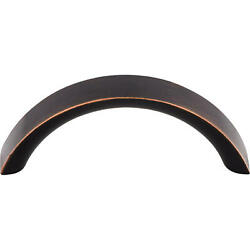 Top Knobs M1734 Crescent 3 Center To Center Arch Cabinet Pull - Bronze