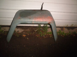Willys Jeep Truck Right Rear Fender Some Rust But Still Shapely