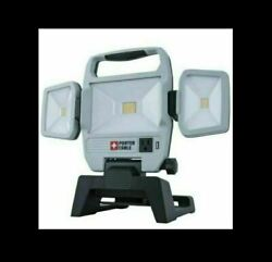 Porter-cable 50w 5000-lumen Max Portable Led Work Light, Corded, Pc1600203