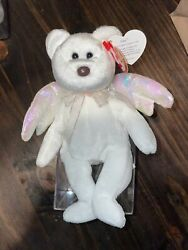 Ty Beanie Babies Halo W/ Brown Nose And Tag Errors. Rare
