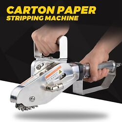 Pneumatic Trimming Single Claw Waste Carton Paper Stripper Stripping Machine Us