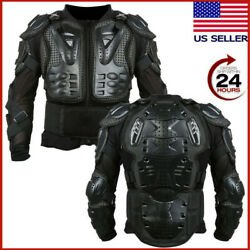 Motorcycle Full Body Armor Racing Motocross Jacket Spine Chest Protector Usa