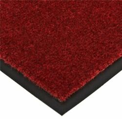 Notrax T37 Atlantic Olefin Entrance Mat For Home Or Office 4and039 X 6and039 Crimson