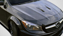 Carbon Creations Black Series Look Hood For 2014-2016 Cla Class