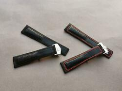 Tag Heuer Carrera And Monaco Rally Calf Leather Watch Strap 22mm