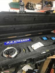 D.e. Stearns 10/20 High Voltage Holiday Detector Pipeline Tool With Paperwork