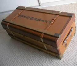 Ww2 Former Japanese Imperial Russo-japanese War Vintage Suitcase Free Ship