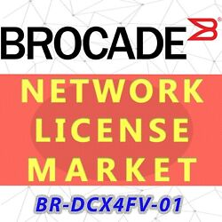Br-dcx4fv-01 Brocade Dcx4s And 8514 Fabric Vision Fv License E-delivery