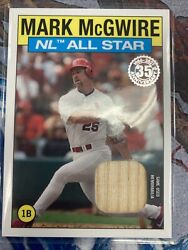 Mark Mcgwire 2021 Topps Series 2 Parallel 1986 All Star Bat Relic