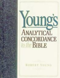 Young's Analytical Concordance To The Bible, , Young, Robert, Very Good, 1984-10
