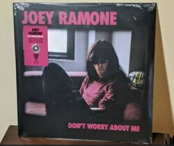 Joey Ramone - Donand039t Worry About Me - Colored Vinyl Lp 2021 Record Store Day New
